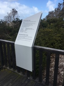 Apex Drive Interpretive Signage